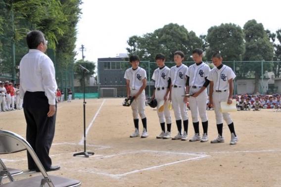 第41回文京区少年軟式野球 夏季大会は準優勝