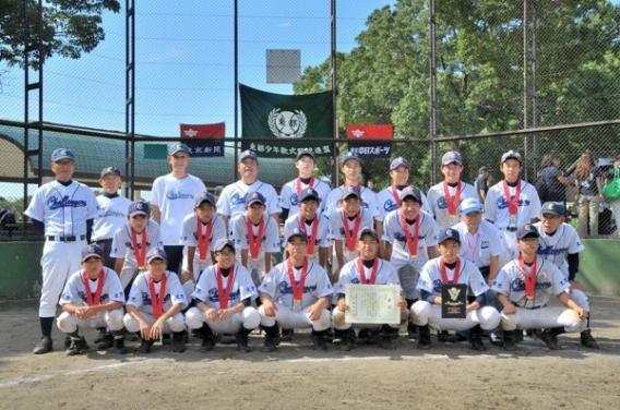 第36回東都少年軟式野球大会で準優勝!